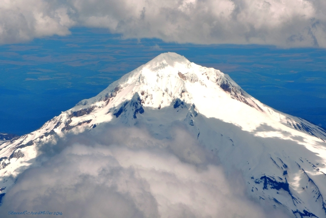 Mt. Hood (11,250'), from the west