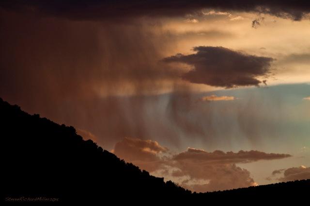 Rain on Barranco Blanco