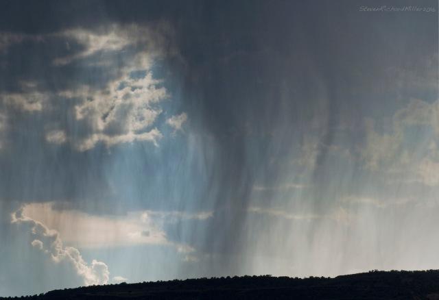 Rain, on Black Mesa