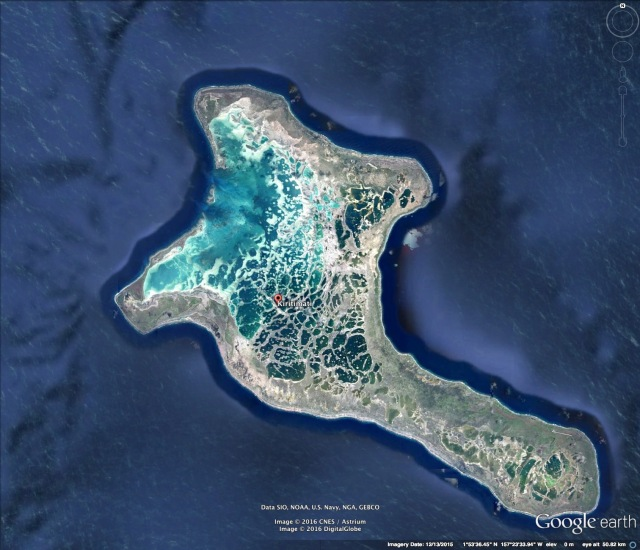 Christmas Island (Google Earth image)