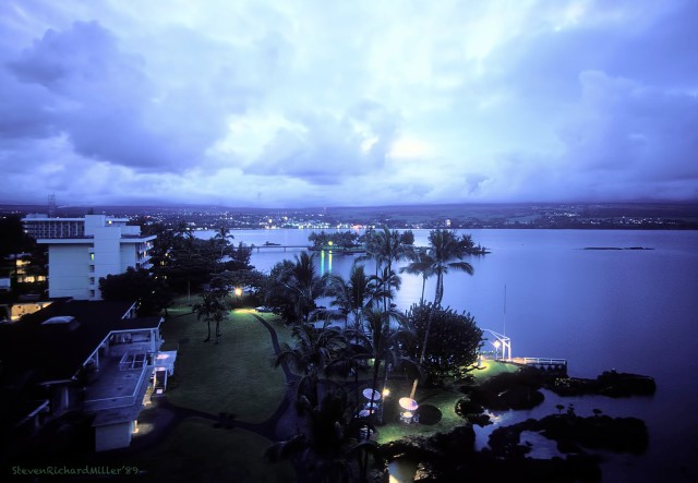 Hotel and Hilo Bay
