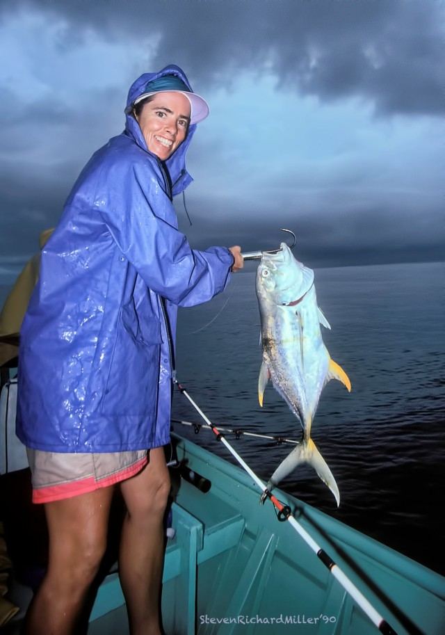 Kathy and jack crevalle