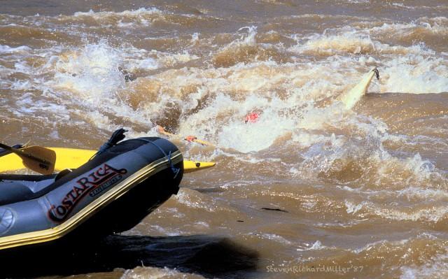The whirlpool, kayak