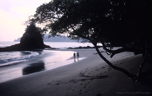 Beach at Manuel Antonio NP