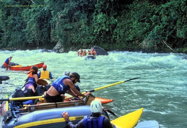 Rio Pacuare, 1987