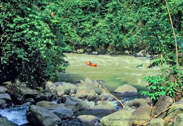 Rio Pacuare, canoe