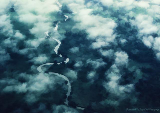 River&Clouds#25'90
