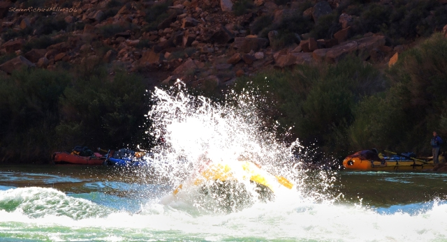 Joe goes big in 24 Mile Rapid (aka Georgie Rapid)