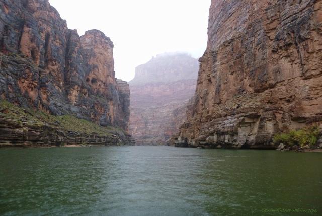 Downstream view below 36 Mile Rapid, at Mile 36.5
