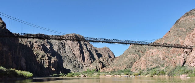 Kaibab Bridge, at Bright Angel Creek