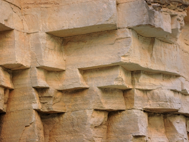 Overhangs in the Muav, Mile 161