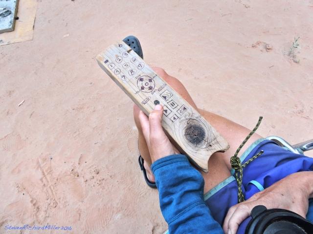 The remote, at Tuckup Camp