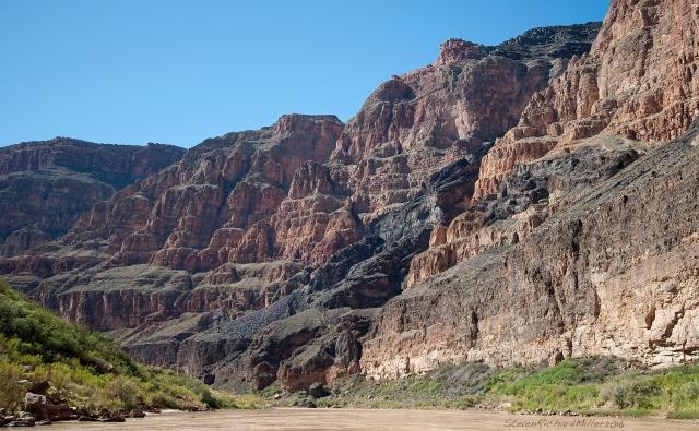 The Lava Cascade, Mile 185
