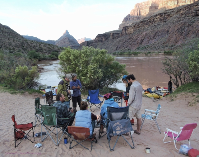Our last camp, #20, was at 222 Mile Canyon