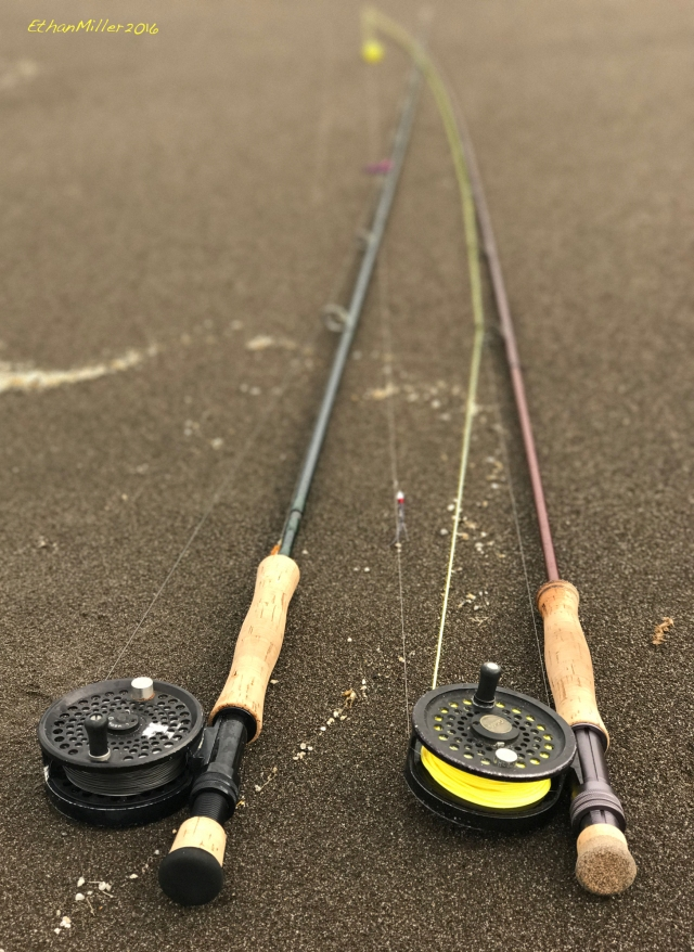 Ethan's two rods