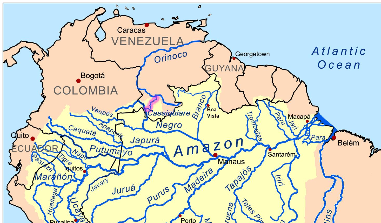 Amazon Orinoco Link Venezuela Believesteve Stevenrichardmiller